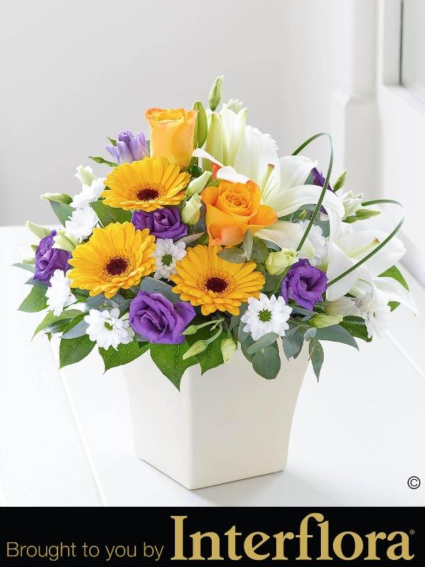 Chic spring arrangement flower fashions aberdeen aberdeenshire chic spring arrangement mightylinksfo
