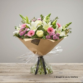 Pure Pastels Hand tied
