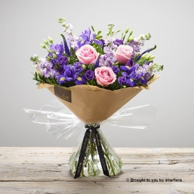 Purple Twilight Hand tied