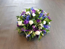 Blue and White Posy PSY02