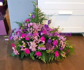 Pink & Purple Basket BSK01