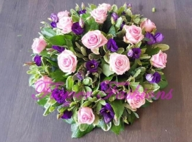 Pink & Purple Posy Pad