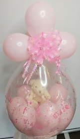 It's a Girl Baby Balloon Giftb Set